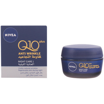 Beauty Damen pflegende Körperlotion Nivea Q10+ Anti-arrugas Noche  50 ml