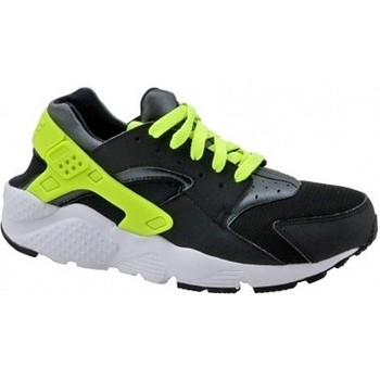 Schuhe Kinder Sneaker Low Nike Huarache Run Gs 654275-017 Czarne