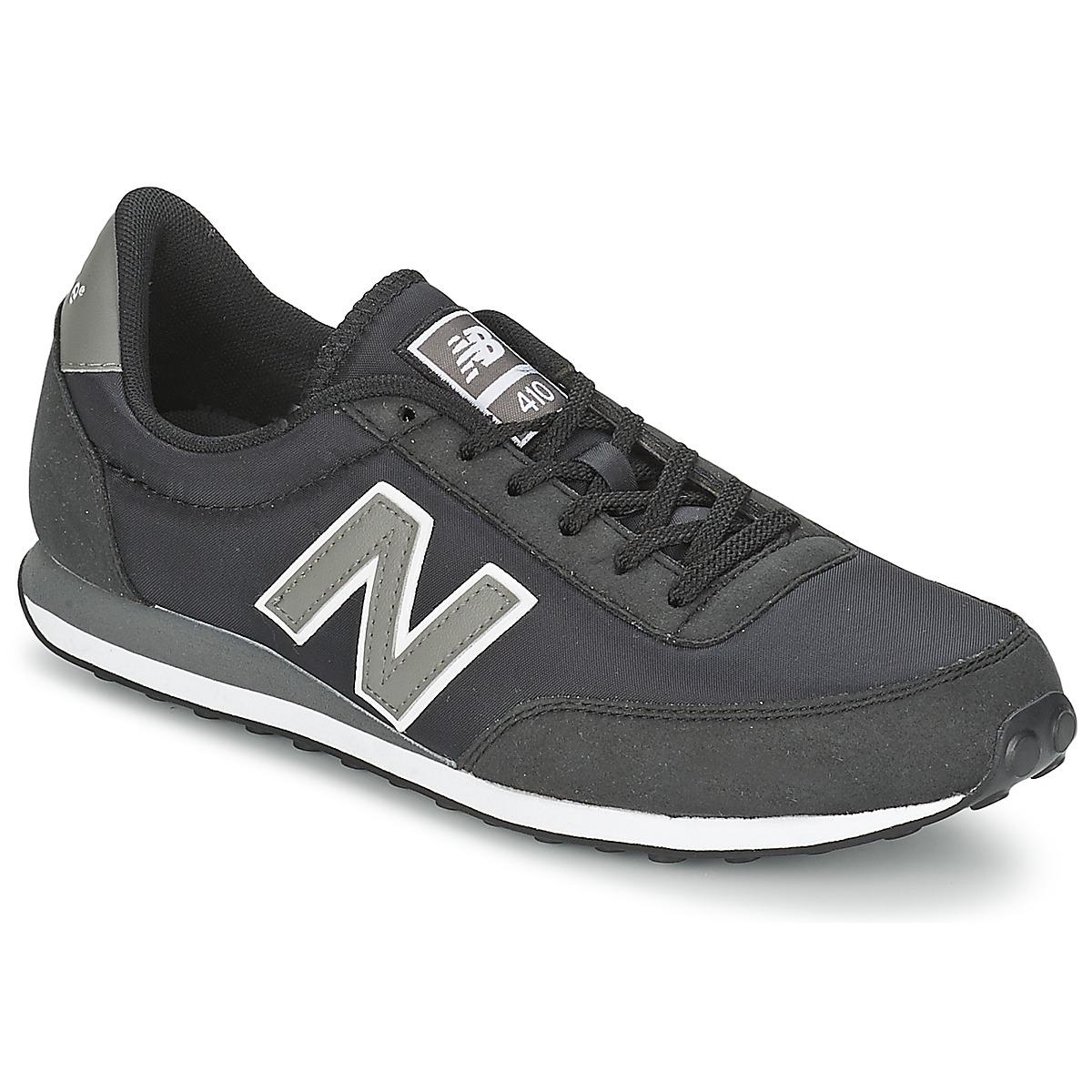 New Balance U410 Schwarz - Kostenloser Versand bei Spartoode ! - Schuhe Sneaker Low  55,99 €