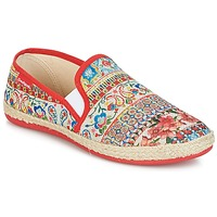 Schuhe Damen Slip on Desigual GRATIFIP-BLOU Rot
