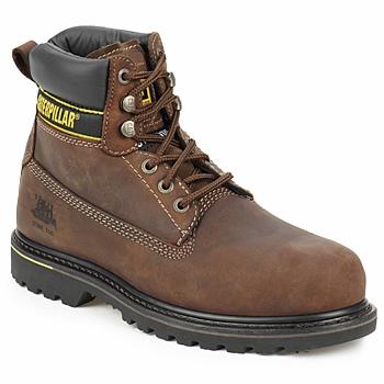 Schuhe Herren Boots Caterpillar HOLTON SB Braun