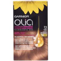 Beauty Damen Accessoires Haare Garnier Olia Coloración Permanente 7,3-golden Dark Blonde 4 Pz 4 u