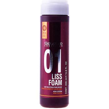 Beauty Spülung Salerm Liss Foam Light Hold Straightening Mousse  200 ml