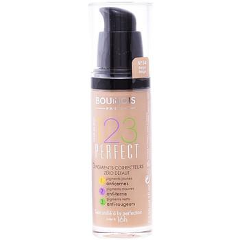 Beauty Damen Make-up & Foundation  Bourjois 123 Perfect Liquid Foundation 54-beige  30 ml