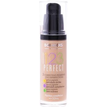 Beauty Damen Make-up & Foundation  Bourjois 123 Perfect Liquid Foundation 55-dark Beige  30 ml