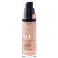 Beauty Damen Make-up & Foundation  Bourjois 123 Perfect Liquid Foundation 57-light Bronze   30 ml