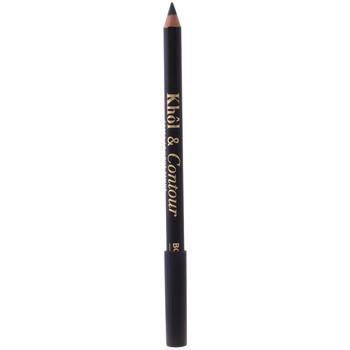 Beauty Damen Kajalstift Bourjois Khôl & Contour Eye Pencil 002-ultra Black 1,2 Gr 1,2 g