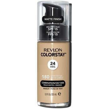 Beauty Damen Make-up & Foundation  Revlon Gran Consumo Colorstay Foundation Combination/oily 180-sand Beige