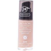 Beauty Damen Make-up & Foundation  Revlon Gran Consumo Colorstay Foundation Combination/oily Skin 220-naturl Beige
