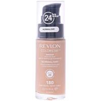 Beauty Damen Make-up & Foundation  Revlon Gran Consumo Colorstay Foundation Normal/dry Skin 180-sand Beige