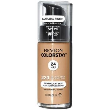 Beauty Damen Make-up & Foundation  Revlon Gran Consumo Colorstay Foundation Normal/dry Skin 220-natural Beige