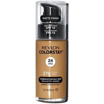 Beauty Damen Make-up & Foundation  Revlon Gran Consumo Colorstay Foundation Combination/oily Skin 370-toast