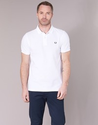 Kleidung Herren Polohemden Fred Perry THE FRED PERRY SHIRT Weiss