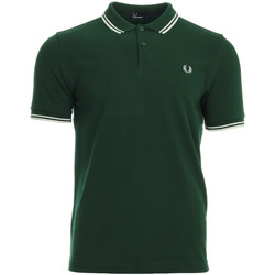 Kleidung Herren Polohemden Fred Perry Twin Tipped  Shirt Ivy Snow White