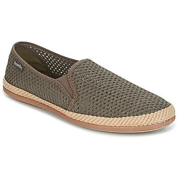 Schuhe Herren Leinen-Pantoletten mit gefloch Bamba By Victoria COPETE ELASTICO REJILLA TRENZA Maulwurf