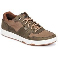 Schuhe Herren Sneaker Low Caterpillar LINE UP CANVAS Braun