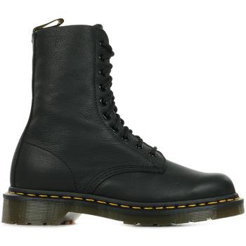 Schuhe Damen Boots Dr Martens 1490 Black Virginia Schwarz