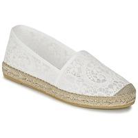 Schuhe Damen Leinen-Pantoletten mit gefloch Nome Footwear FRANCIO Weiss