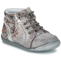 Schuhe Mädchen Boots GBB ROSEMARIE Silberfarben