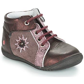 Schuhe Mädchen Boots GBB RESTITUDE Vx / Rosa-bordeau / Dpfkezia