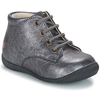Schuhe Mädchen Boots GBB NAOMI Grau / Dpf / Kezia