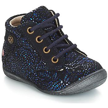 Schuhe Mädchen Boots GBB NICOLE Ctu / Marine / Dpf / Kezia