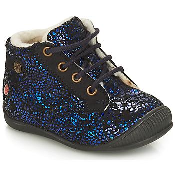Schuhe Mädchen Boots GBB NICOLE Ctu / Marine / Dch / Kezia