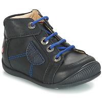 Schuhe Jungen Boots GBB RACINE Schwarz / Dpf / Raiza