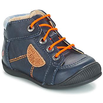 Schuhe Jungen Boots GBB RACINE Blau / Dpf / Raiza