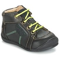 Schuhe Jungen Boots GBB RACINE Grau / Schwarz