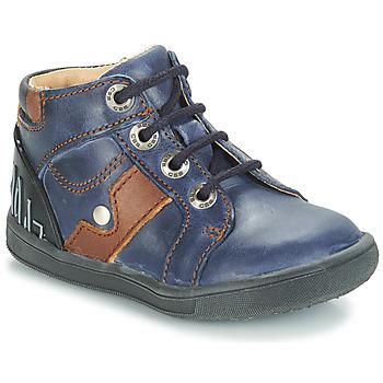 Schuhe Jungen Boots GBB REGIS Marine / Dpf / Messi