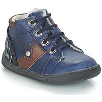 Schuhe Jungen Boots GBB REGIS Marine / Dch / Messi