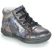 Schuhe Mädchen Sneaker High GBB ROSETTA Silbern / Blau