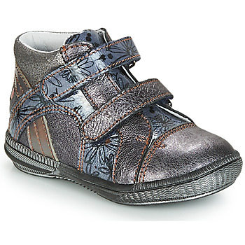 Schuhe Boots GBB ROXANE Vnv / Grau / Blau-bedruckt / Dpf / Sabina