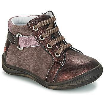 Schuhe Mädchen Boots GBB RICHARDINE Braun / Bronze