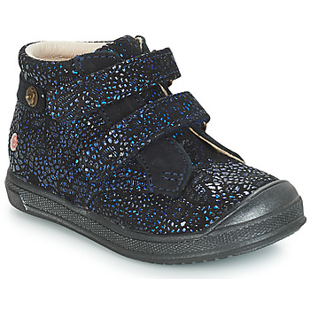Schuhe Mädchen Boots GBB RACHEL Blau / Marine