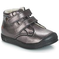 Schuhe Mädchen Boots GBB RACHEL Grün / gelb / schwarz / Rose / Dch / Edit