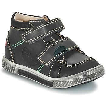 Schuhe Jungen Boots GBB ROBERT Ctu / Grau-schwarz / Dpf / Stryke