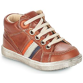 Schuhe Jungen Klassische Stiefel GBB ANGELITO Braun / Dpf / 2367