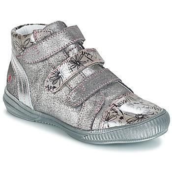 Schuhe Mädchen Boots GBB RAFAELE Silbern