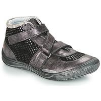 Schuhe Mädchen Boots GBB RIQUETTE Grau / Dpf / Regina