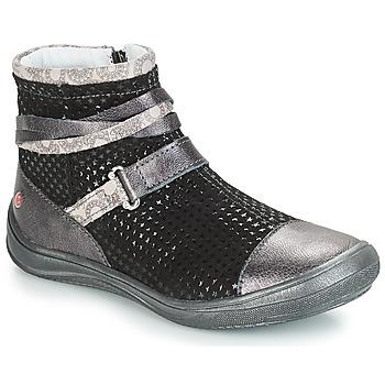 Schuhe Mädchen Klassische Stiefel GBB ROCHELLE Grau / Dpf / Regina