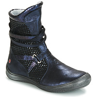 Schuhe Mädchen Klassische Stiefel GBB ROSANA Blau / Schwarz