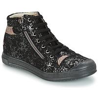 Schuhe Mädchen Boots GBB DESTINY Schwarz-gold / Dpf / Edit