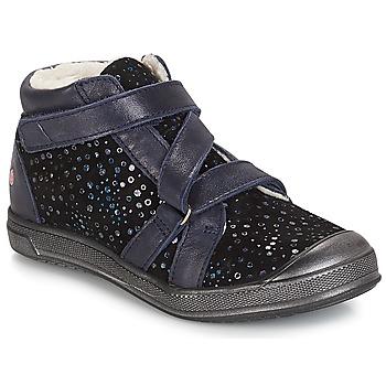 Schuhe Mädchen Boots GBB NADEGE Schwarz / Confetti / Dch / Edit