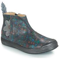 Schuhe Mädchen Klassische Stiefel GBB ROMANE Grau / Dpf / Edit