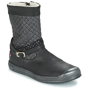 Schuhe Mädchen Klassische Stiefel GBB ROLANDE Schwarz / Dch / Edit