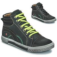 Schuhe Jungen Boots GBB RALPH Ctu / Grau-schwarz / Dpf / Stryke