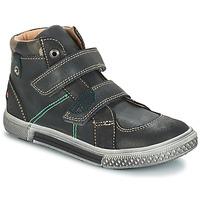 Schuhe Jungen Boots GBB RANDALL Ctu / Grau-schwarz / Dpf / Stryke