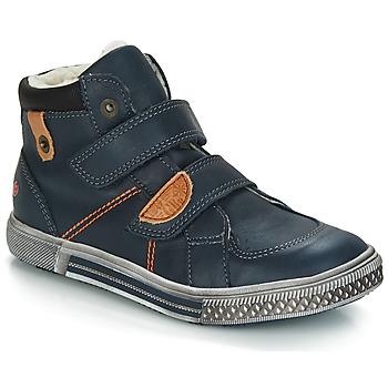 Schuhe Jungen Boots GBB RANDALL Blau / Dch / Stryke